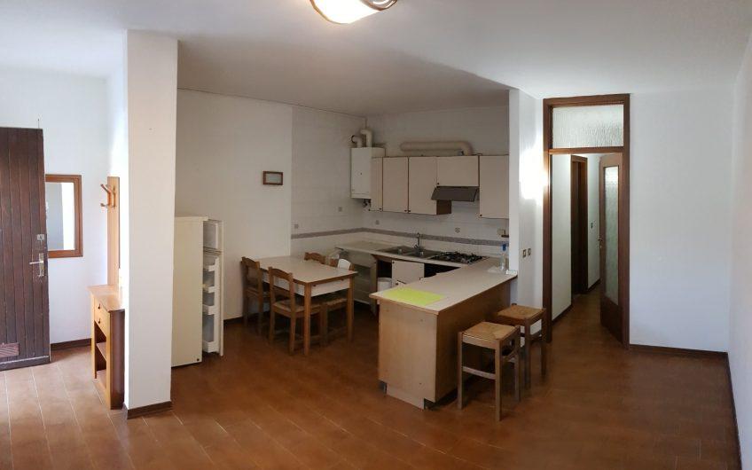 Udine, via Pradamano, appartamento bicamere con giardino